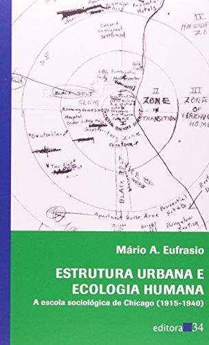Estrutura Urbana e Ecologia Humana, livro de Mário A. Eufrasio