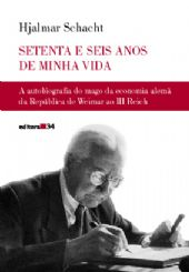 Setenta e Seis Anos de Minha Vida, livro de Hjalmar Schacht
