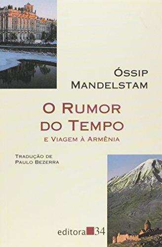 Rumor do Tempo, O, livro de Óssip Mandelstam