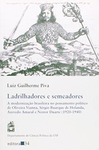 Ladrilhadores e Semeadores, livro de Luiz Guilherme Piva