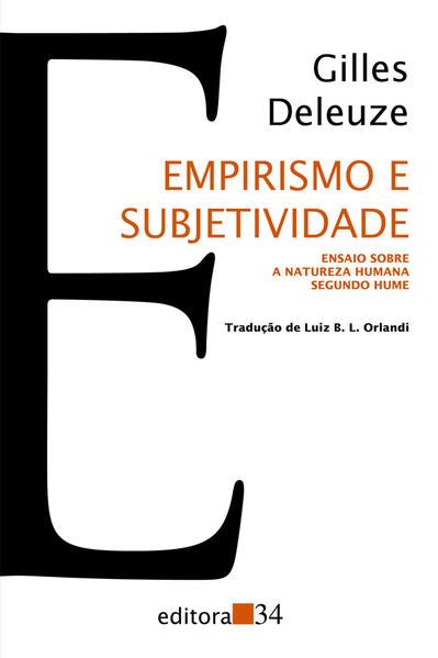 Empirismo e Subjetividade, livro de Gilles Deleuze