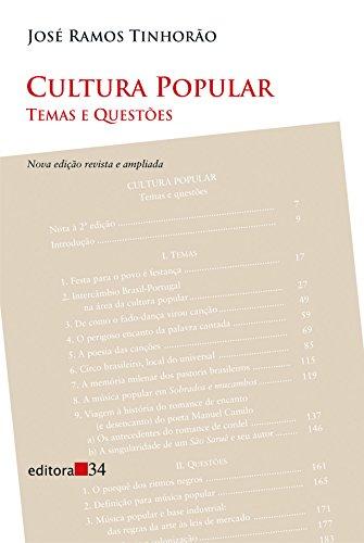 Cultura Popular, livro de José Ramos Tinhorão