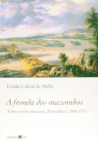 Fronda dos Mazombos, A, livro de Evaldo Cabral de Mello