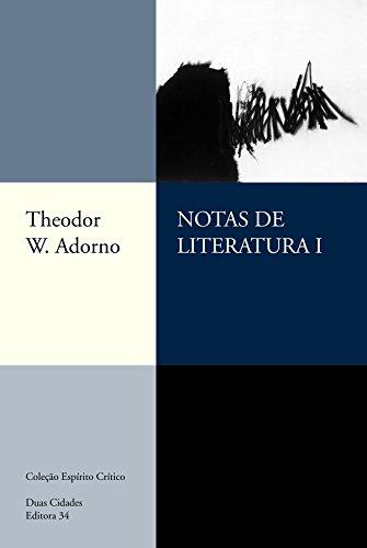 Notas de Literatura I, livro de Theodor W. Adorno