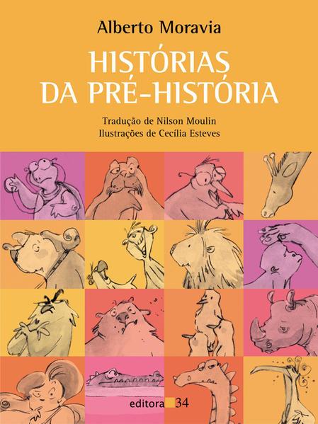 Histórias da Pré-História, livro de Alberto Moravia