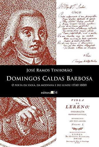 Domingos Caldas Barbosa, livro de José Ramos Tinhorão