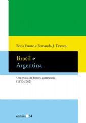 Brasil e Argentina, livro de Boris Fausto, Fernando J. Devoto