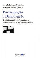 Participação e Deliberação, livro de Vera Schattan P. Coelho e Marcos Nobre (orgs.)