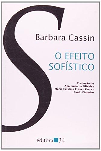 Efeito Sofístico, O, livro de Barbara Cassim