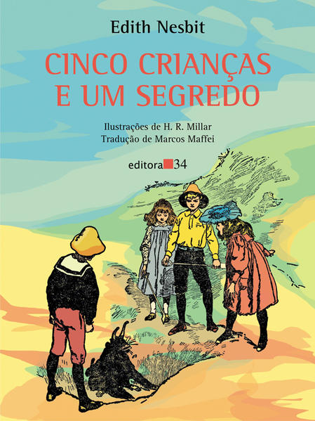 Cinco Crianças e um Segredo, livro de Edith Nesbit
