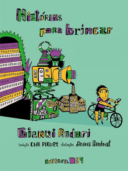 Histórias Para Brincar, livro de Gianni Rodari