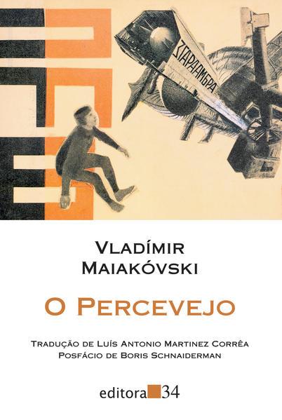 O percevejo - comédia fantástica em nove cenas, livro de Vladímir Maiakóvski