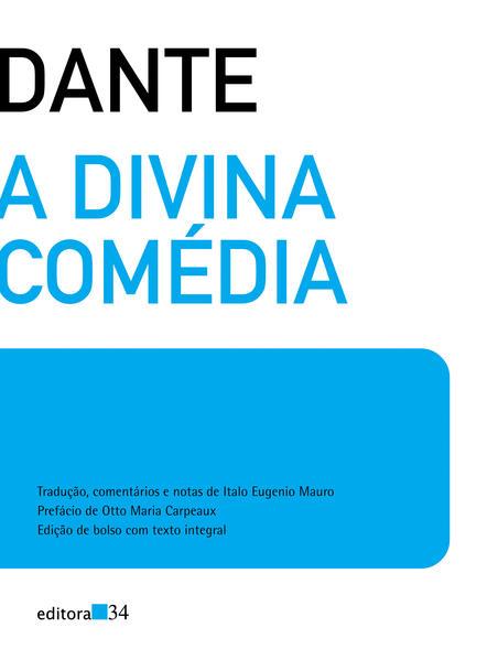 A divina comédia (edição de bolso), livro de Dante Alighieri