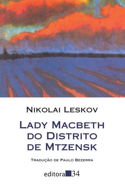 Lady Macbeth do distrito de Mtzensk, livro de Nikolai Leskov