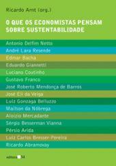 O que os economistas pensam sobre sustentabilidade, livro de Ricardo Arnt (Org.)