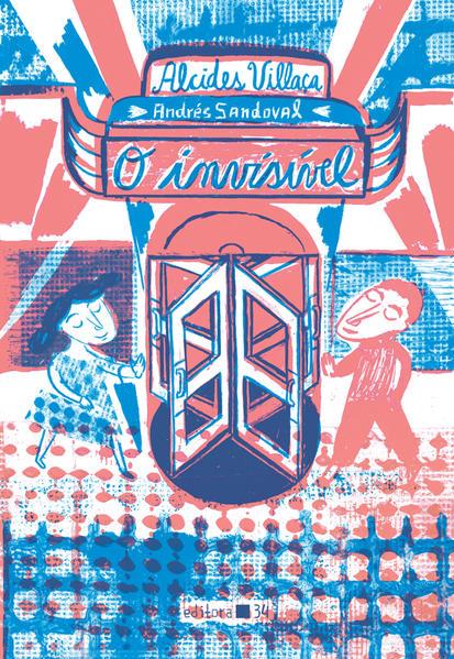 O invisível, livro de Alcides Vilaça, Andrés Sandoval