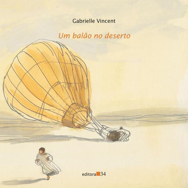 balão no deserto, Um, livro de Gabrielle Vincent