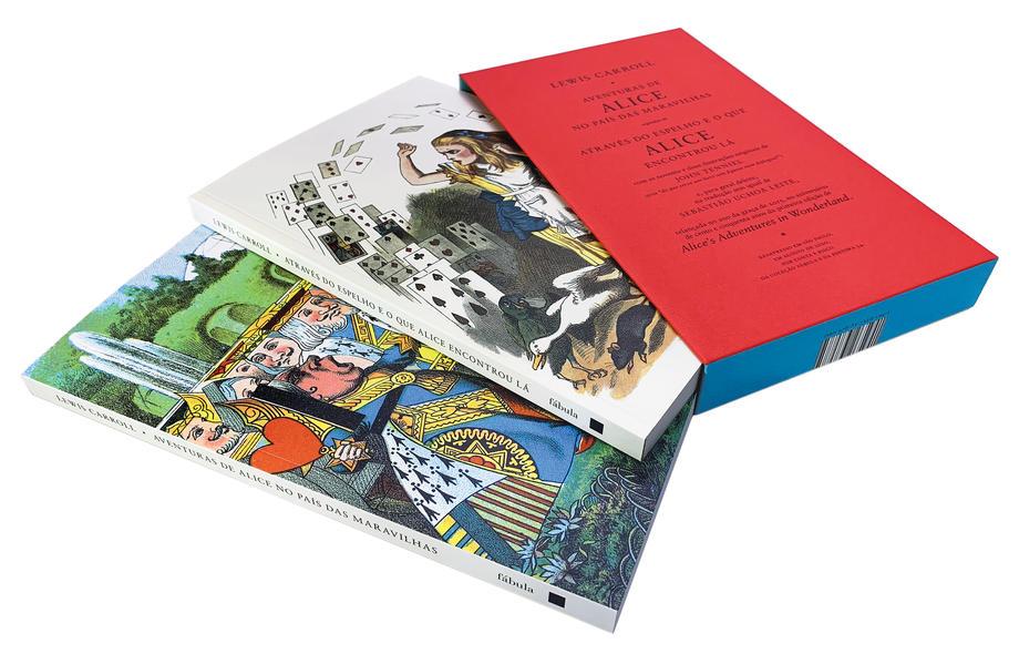 Caixa Alice, livro de Lewis Carroll