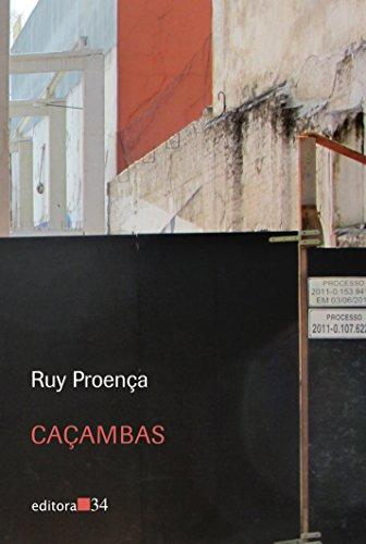 Caçambas, livro de Ruy Proença