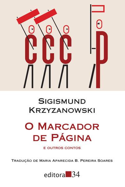O marcador de página e outros contos, livro de Sigismund Krzyzanowski