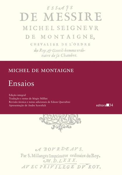 Ensaios, livro de Michel de Montaigne