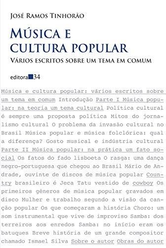 Música e Cultura Popular. Vários Escritos Sobre Um Tema em Comum, livro de José Ramos Tinhorão