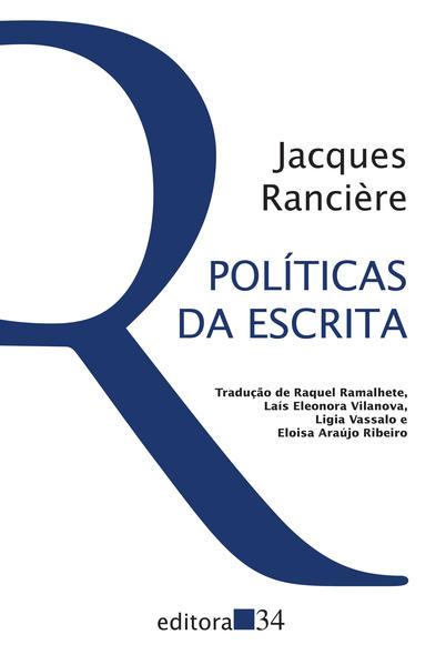 Políticas da Escrita, livro de Jacques Rancière