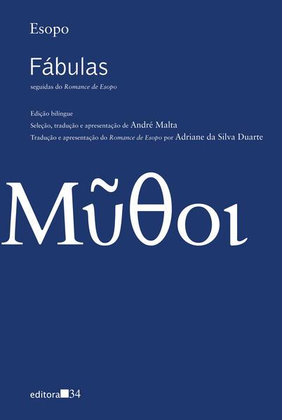 Fábulas, seguidas do Romance de Esopo, livro de Esopo
