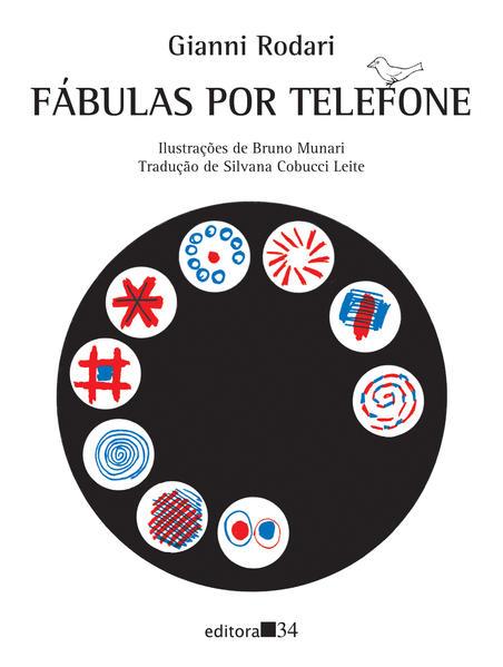 Fábulas por telefone, livro de Gianni Rodari, Bruno Munari
