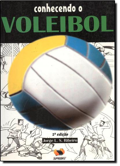 Conhecendo o Voleibol, livro de Jorge. L.S. Ribeiro