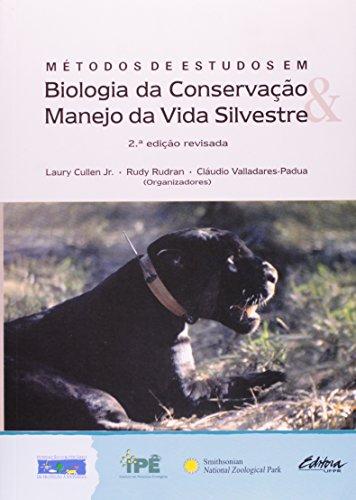 Métodos de Estudos em Biologia da Conservação e Manejo da Vida Silvestre, livro de Laury Cullen Junior