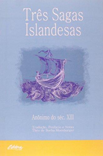 Três Sagas Islandesas, livro de Anonimo Do Seculo Xiii