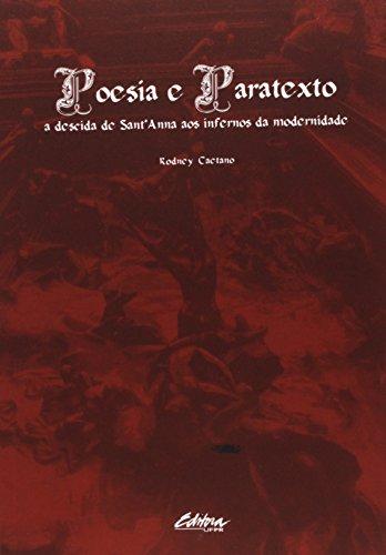 Poesia e Paratexto, livro de Rodney Caetano