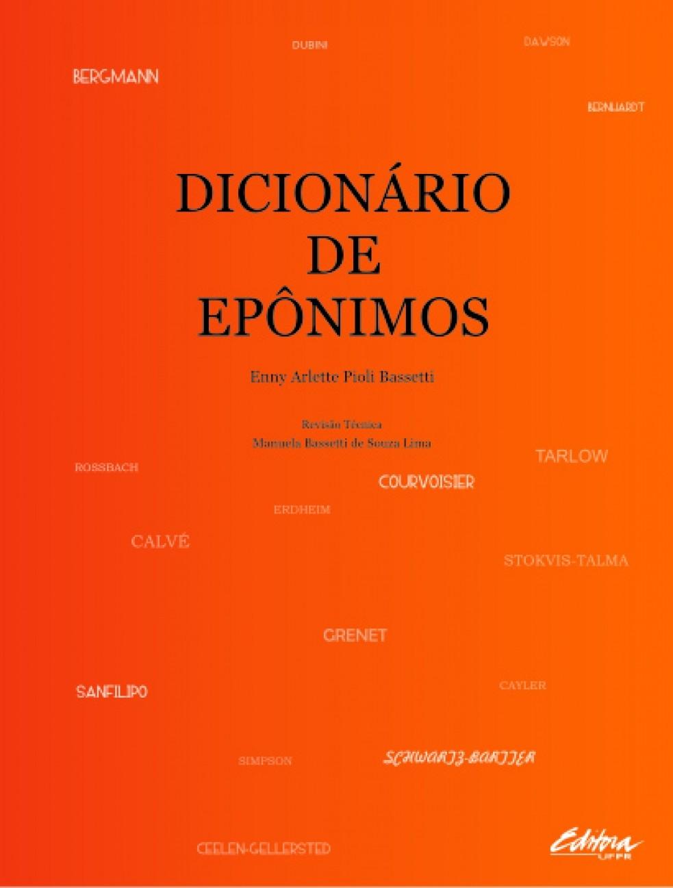 Dicionário de epônimos, livro de Enny Arlette Pioli Bassetti