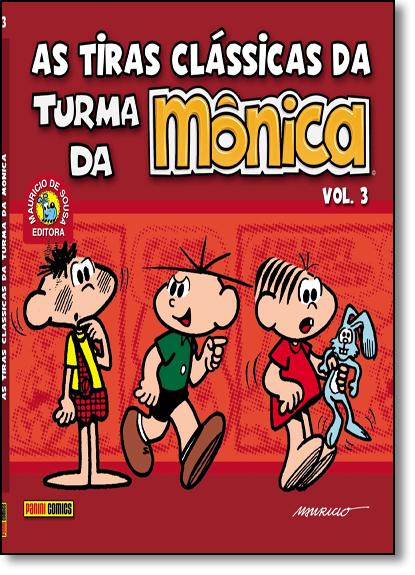 Tiras Clássicas da Turma da Mônica, As - Vol.3, livro de Mauricio de Sousa