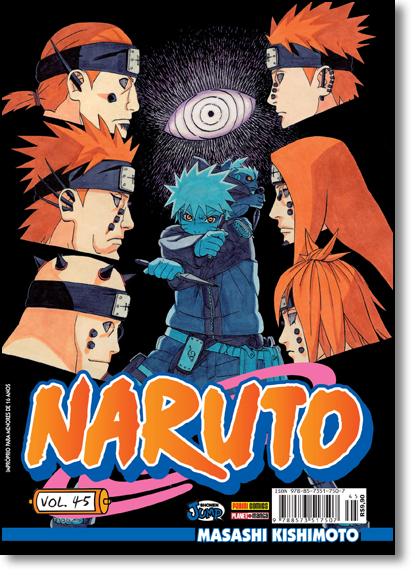 Naruto - Vol.45, livro de Masashi Kishimoto