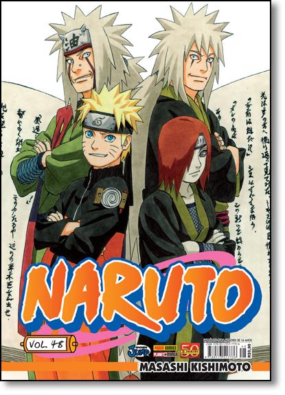Naruto - Vol.48, livro de Masashi Kishimoto