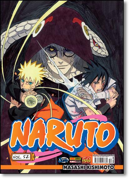 Naruto - Vol.52, livro de Masashi Kishimoto