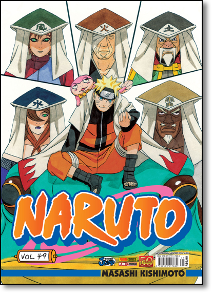 Naruto - Vol.49, livro de Masashi Kishimoto