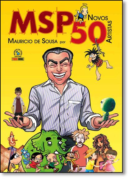 Msp 50 Novos Artistas - Vol.3 - Brochura, livro de Mauricio de Sousa