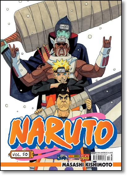 Naruto - Vol.50, livro de Masashi Kishimoto
