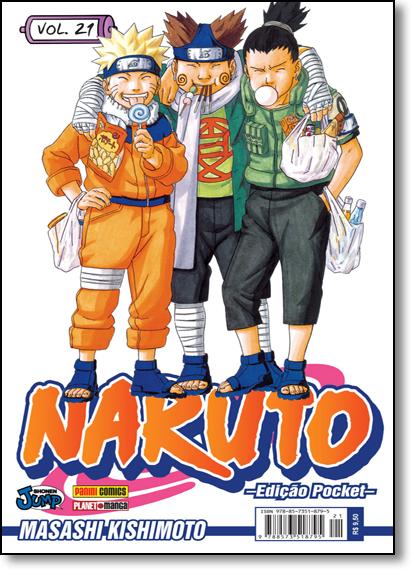Naruto Pocket - Vol.21, livro de Masashi Kishimoto