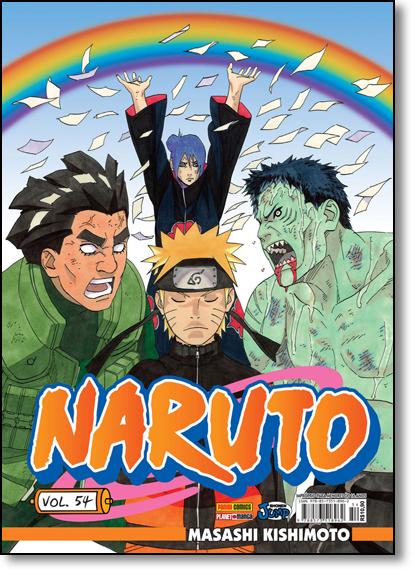 Naruto - Vol.54, livro de Masashi Kishimoto