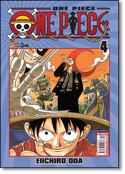 One Piece - Vol.4, livro de Eiichiro Oda