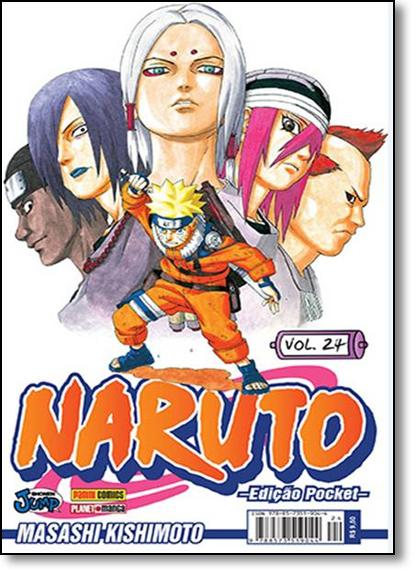 Naruto Pocket - Vol.24, livro de Masashi Kishimoto