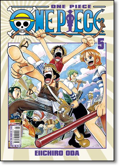 One Piece - Vol.5, livro de Eiichiro Oda