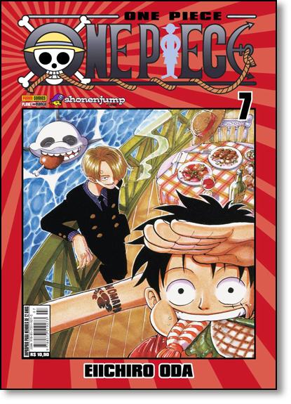 One Piece - Vol.7, livro de Eiichiro Oda