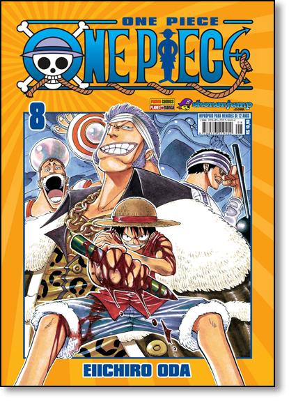 One Piece - Vol.8, livro de Eiichiro Oda