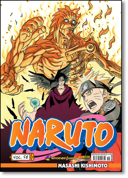 Naruto - Vol.57, livro de Masashi Kishimoto