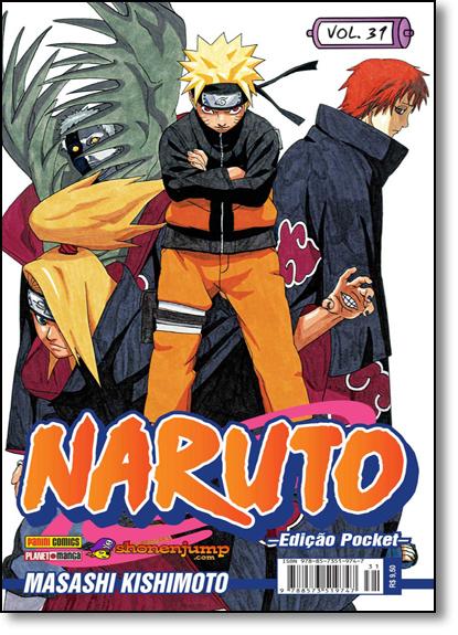 Naruto Pocket - Vol.31, livro de Masashi Kishimoto
